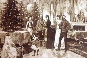 Vianoce u Sissi. Fotografiu našli vpráci Daniela Hupka.