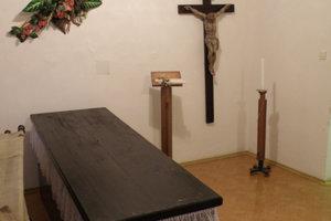 Ilustračná fotografia smútočnej miestnosti