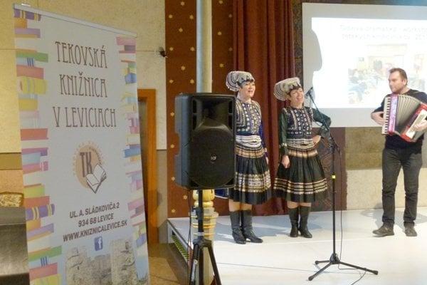 Tekovská knižnica oslávila dvojité jubileum.