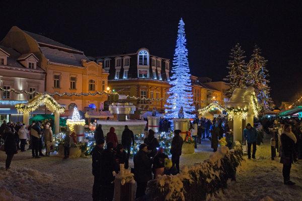 Vianoce v Poprade.