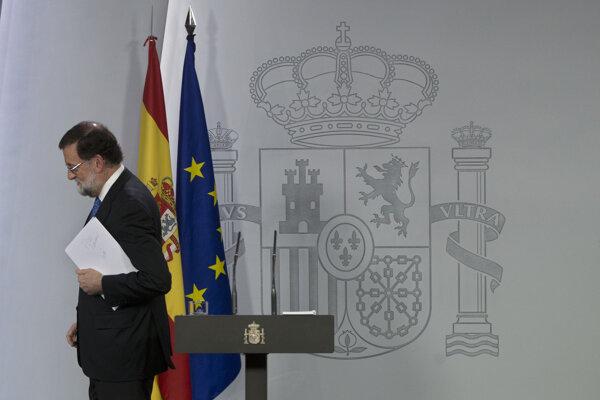 Španielsky premiér Mariano Rajoy.