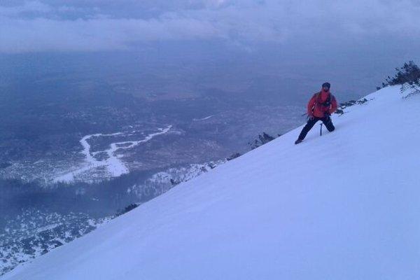 Pri pátraní po poľských skialpinistoch.
