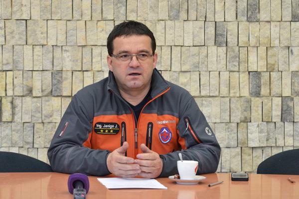 Riaditeľ Horskej záchrannej služby Jozef Janiga.