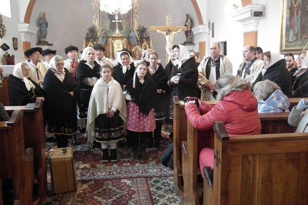 Spoločné vystúpenie Žrnovanky a Hájička.