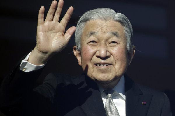 Cisár Akihito abdikuje 30. apríla 2019.