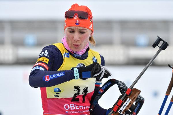 Anastasia Kuzminová triumfovala v Oberhofe.