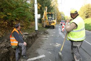 Mesto výrazne investuje aj do opráv ciest.