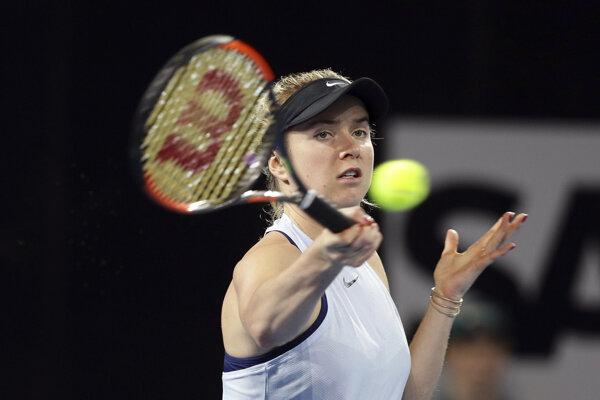 Jelina Svitolinová vyhrala turnaj v Brisbane.
