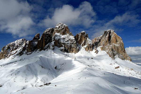 Taliansko. Dolomity. Sella Ronda