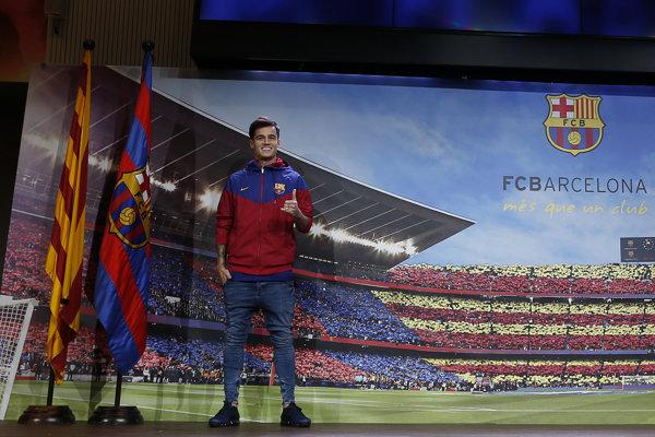 Philippe Coutinho si na svoj debut v drese Barcelony zrejme bude musieť chvíľu počkať.