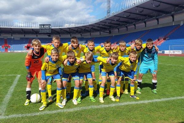Pohronie U13. Snímka najúspešnejšieho mládežníckeho tímu.