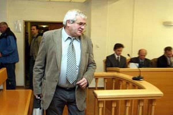 Igor Šajgal počas jedného zo súdnych pojednávaní.