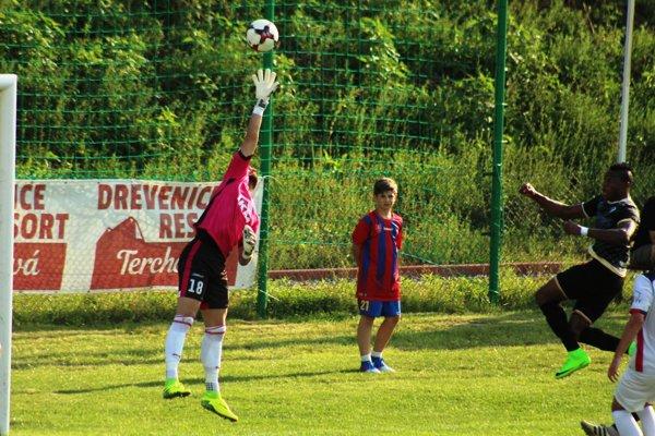 Tomáš Jenčo v akcii, ešte v drese MFK Zvolen