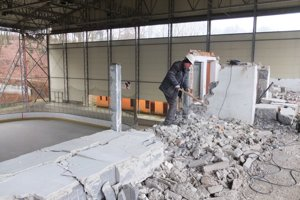 Objekt hlavnej tribúny prejde prestavbou.