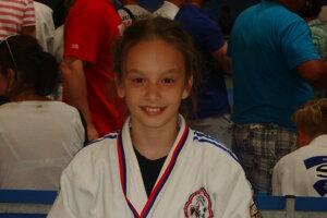 Natália Gažiová sa stala vlani národnou šampiónkou v kategórii mladších žiačok.