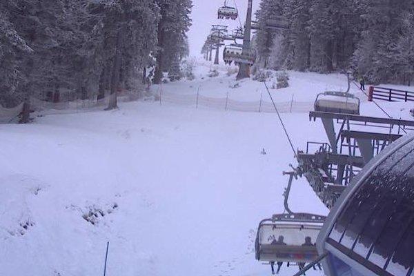 Takto sa dnes lyžuje na Martinských holiach.
