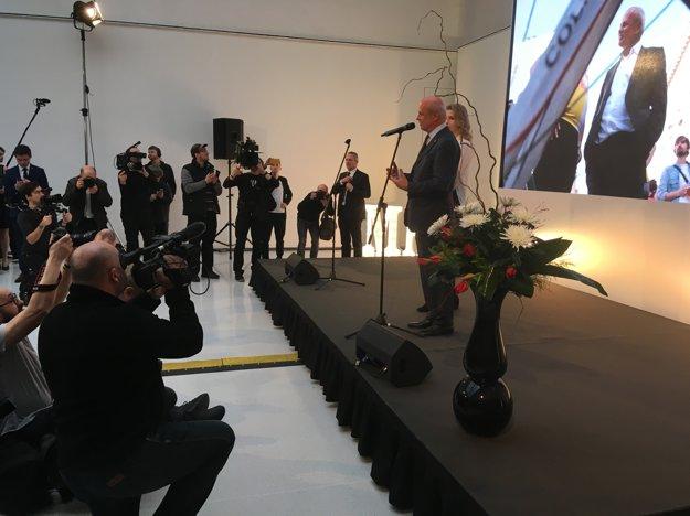 Prezidentský kandidát Horáček.