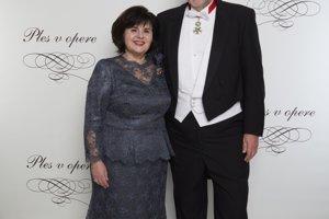 Ján Kubiš s manželkou Jaroslavou