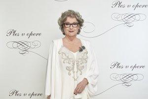 Božidara Turzonovová, herečka a moderátorka Plesu v opere 2018