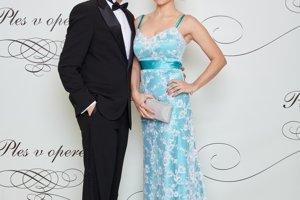 Dominik Hrbatý s partnerkou