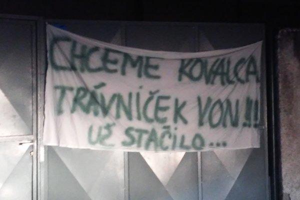 Transparent fans 1. FC Tatran Prešov.