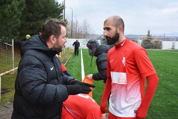 Tréner Šarmír v debate s Militosjanom, ktorý prišiel z Komárna.