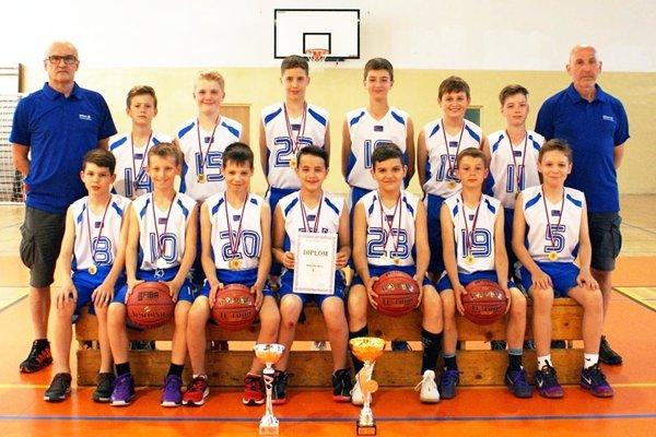 Mladší žiaci BKM SPU Nitra už majú dva tituly majstrov Slovenska. Vbudúcej sezóne ich čaká európska súťaž.