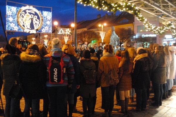 Prešovské spevácke zbory spestrujú mnohé podujatia v meste.