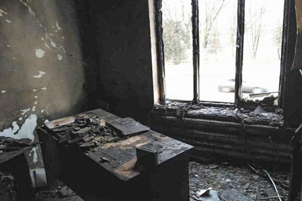 Pri požiari vyhoreli najmenej dve kancelárie Memorialu.