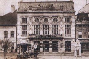 Kino Korzó Mozgó na Hlavnej ulici v Košiciach.