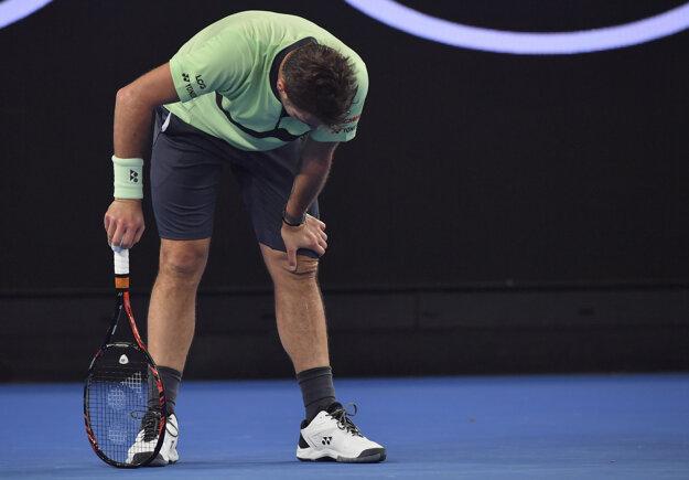 Stan Wawrinka na Australian Open skončil v 2. kole.