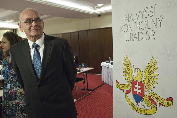 Predseda Najvyššieho kontrolného úradu SR Karol Mitrík