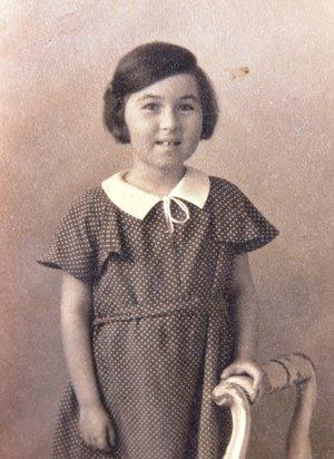 Ruth Mittelmannová (Charlotta Neumannová). 1932.