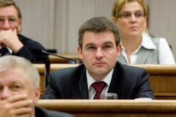Poslanec Smeru Peter Pelegrini.