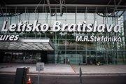 Letisko Milana Rastialava Štefánika v Bratislave.