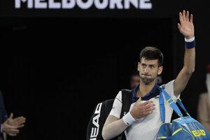 Novak Djokovič na Australian Open 2018 skončil v osemfinále.