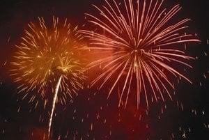 Silvestrovský ohňostroj patrí k vítaniu nového roka.