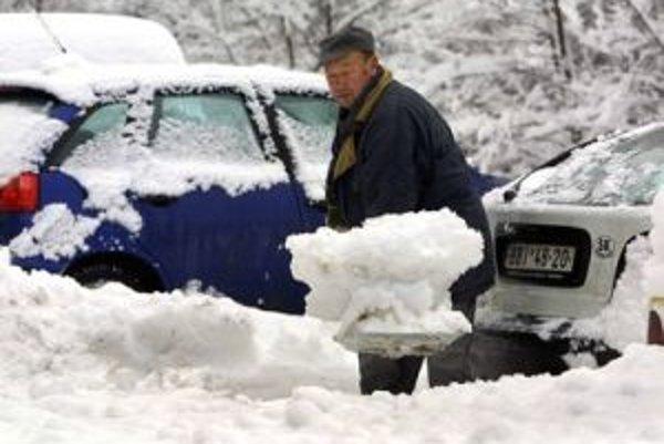 Zima udrela na hory tento rok s plnou silou