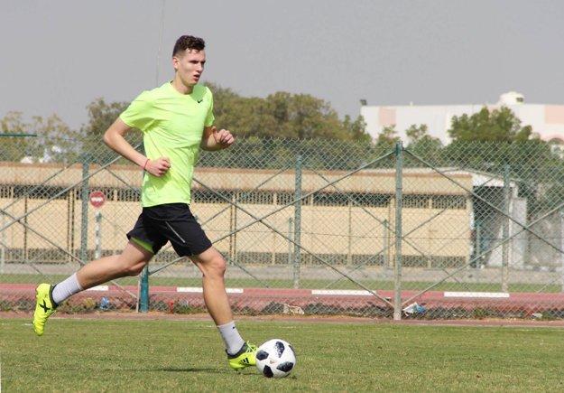 Balaj je s novým klubom na sústredení v SAE.