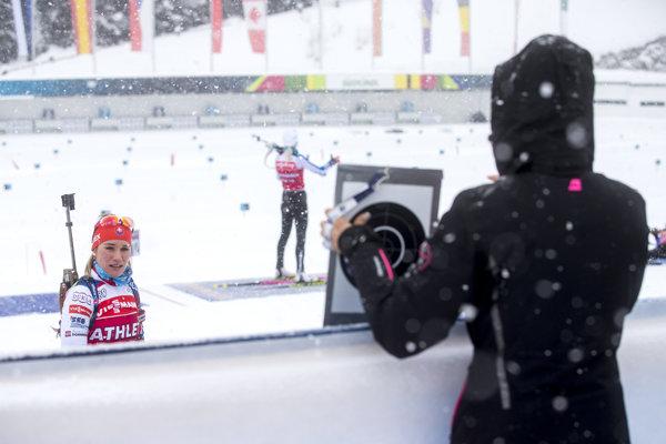 Paulína Fialková doplatila na štyri chyby na strelnici.