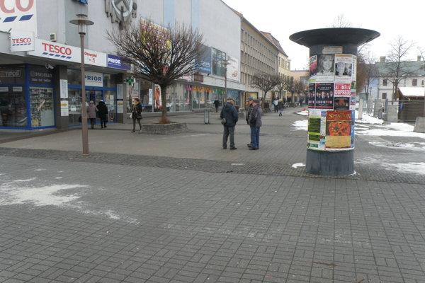 Miesto, kde došlo k potýčke bezdomovcov.