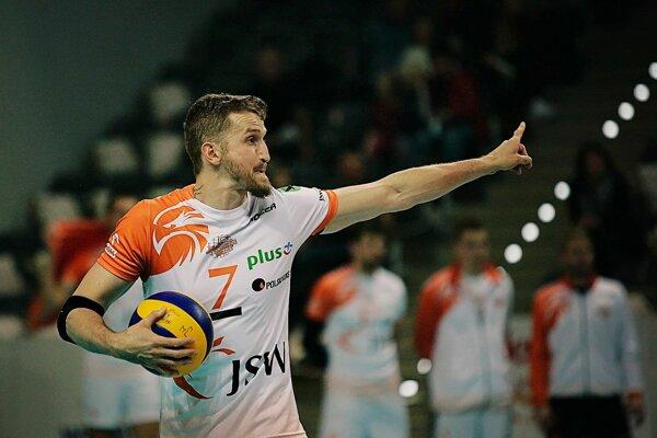 V drese Jastrzębski Węgiel dosiahol Michal Masný najväčší úspech v kariére.