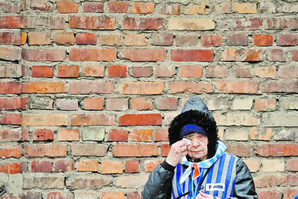 Pamätníčka v Osvienčime.