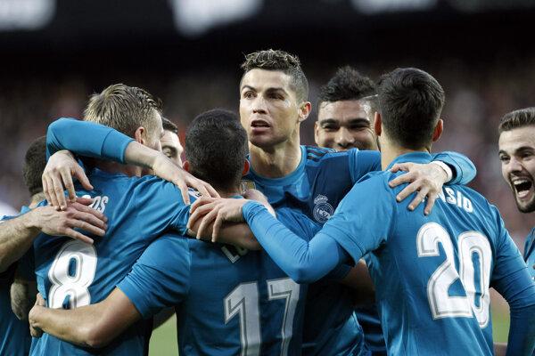 Hráči Realu Madrid.