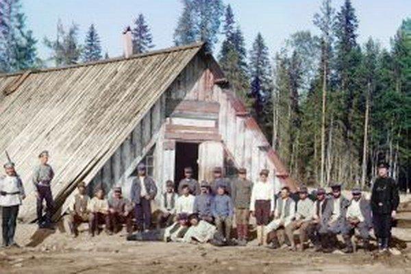 Rakúski zajatci v Rusku.