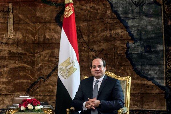 Abdal Fattáh Sísí, súčasný prezident Egypta.