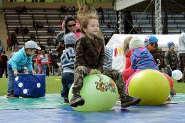 Deň detí bol plný zábavy.