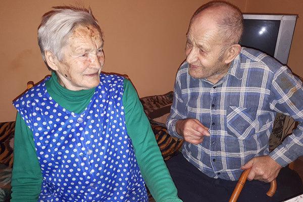 Manželia Mária a Jozef Juráškovci sú veľmi sympatický manželský pár.
