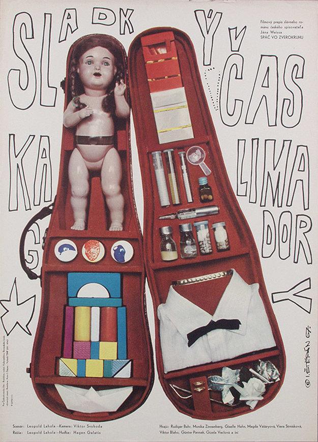 Poetický film Sladký čas Kalimagdory sa nakrúcal v Budapešti, Salzburgu a v Bratislave a mal za hranicami veľký ohlas. V Nemecku dokonca vyšla platňa s hudbou, ktorá film sprevádzala.