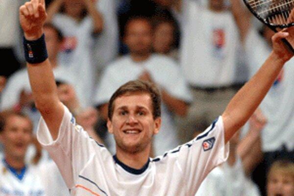 Slovenská tenisová jednotka Karol Beck je vo forme.